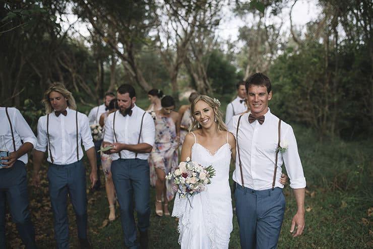 Waterfront Diy Surprise Wedding Barefoot Bearded
