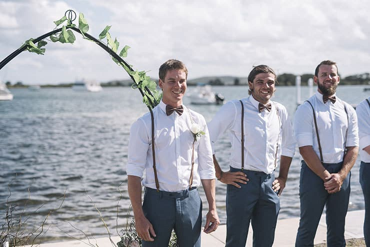 Waterfront DIY Surprise Wedding | Barefoot & Bearded