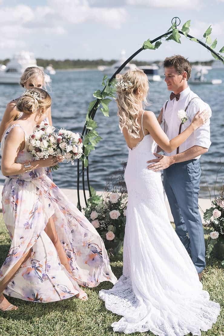 A waterfront diy surprise wedding the wedding playbook waterfront diy surprise wedding barefoot bearded junglespirit Gallery