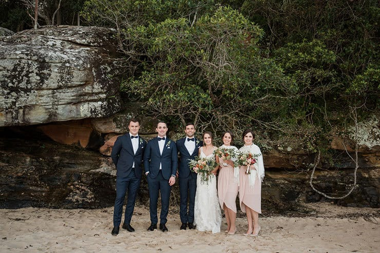 A Waterside DIY Wedding in a Neutral Palette   Lola Images