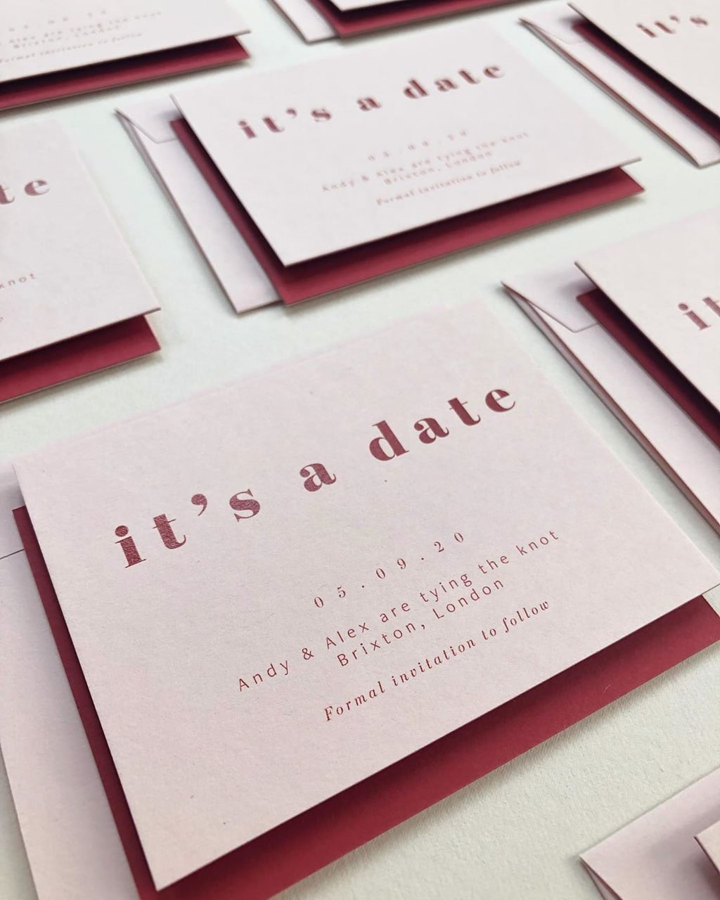15 Ways to Choose Your Wedding Date | Stationery: ERA Calligraphy