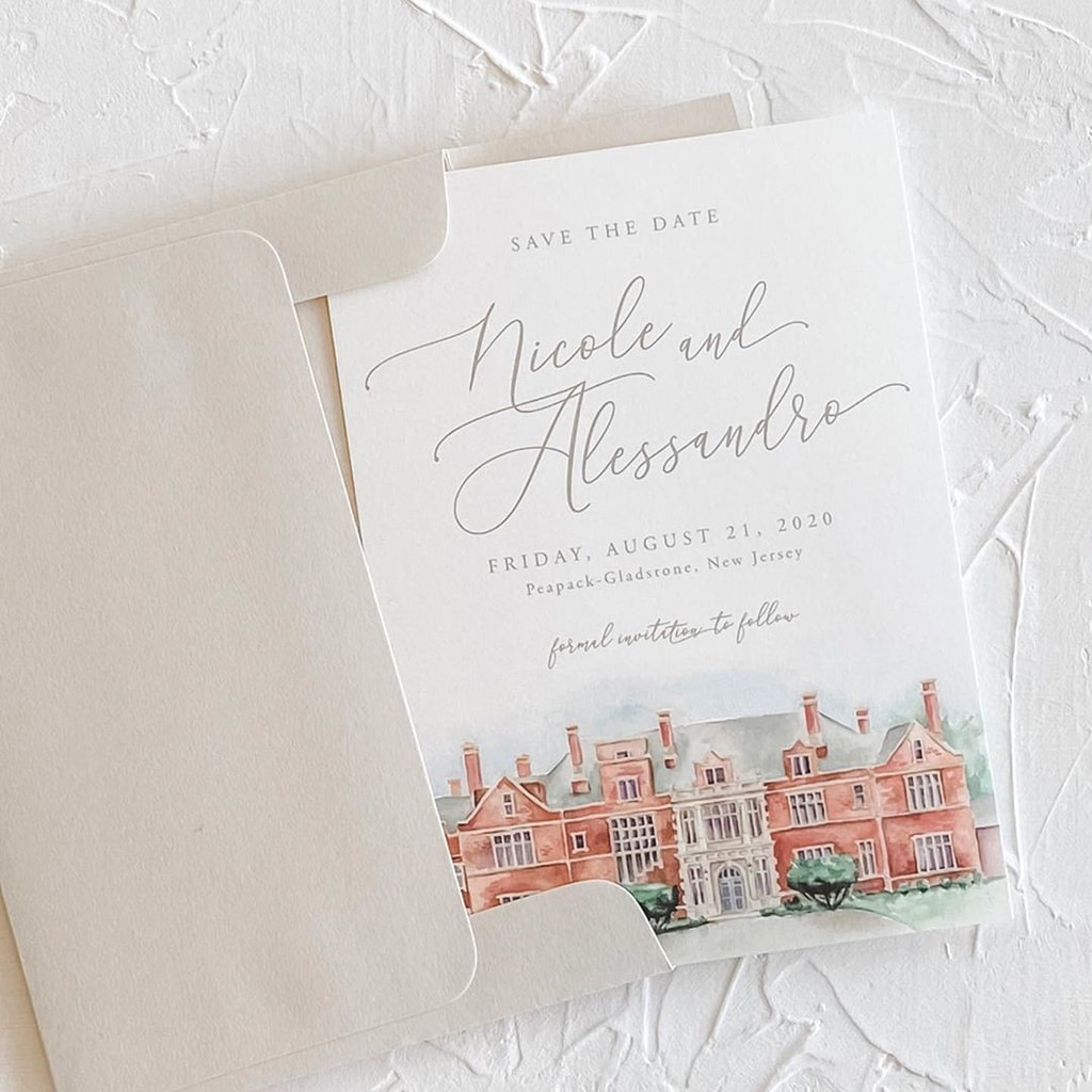 15 Ways to Choose Your Wedding Date | Stationery: Hudson Paperie