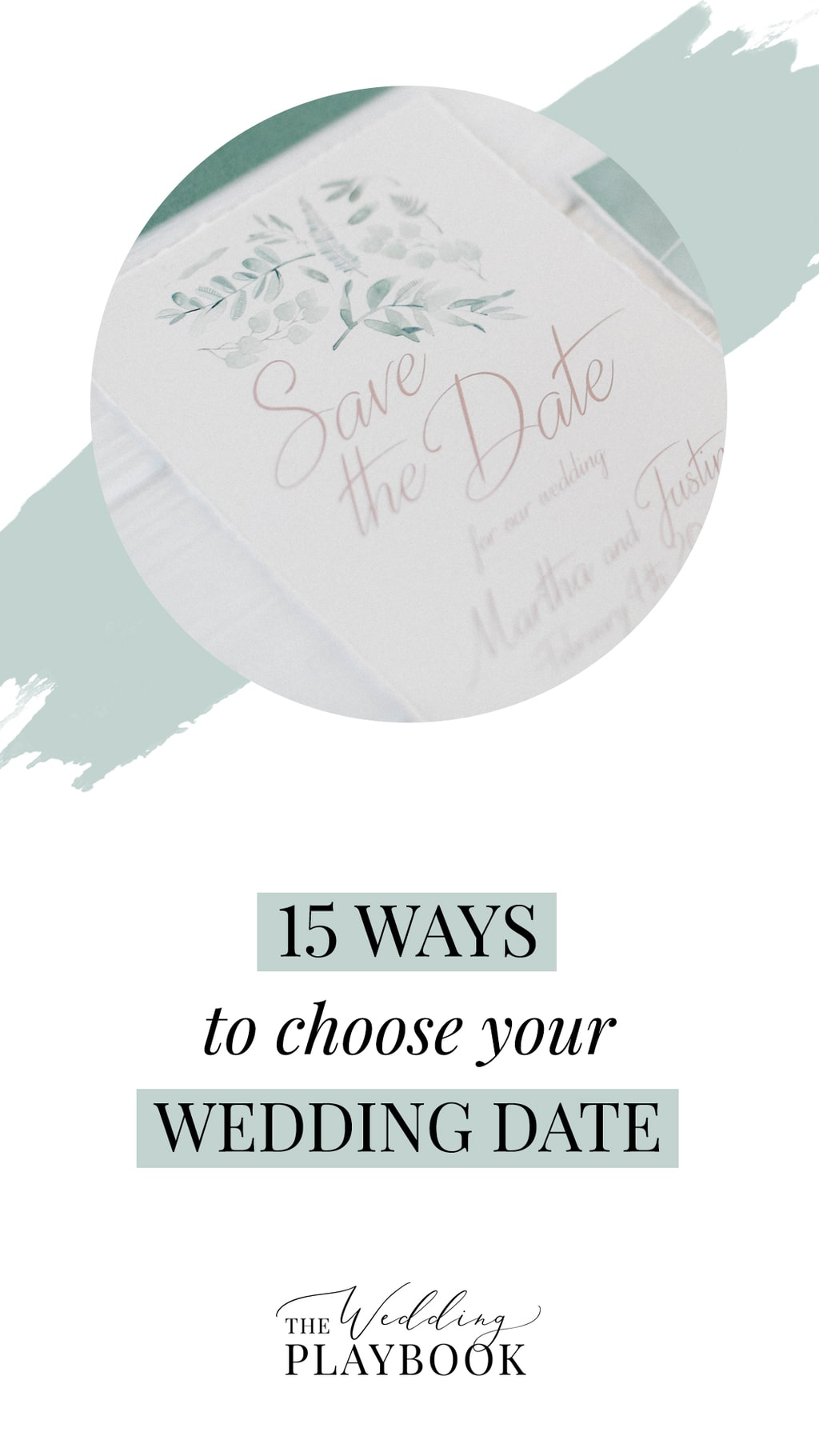 15 Ways to Choose Your Wedding Date | The Wedding Playbook