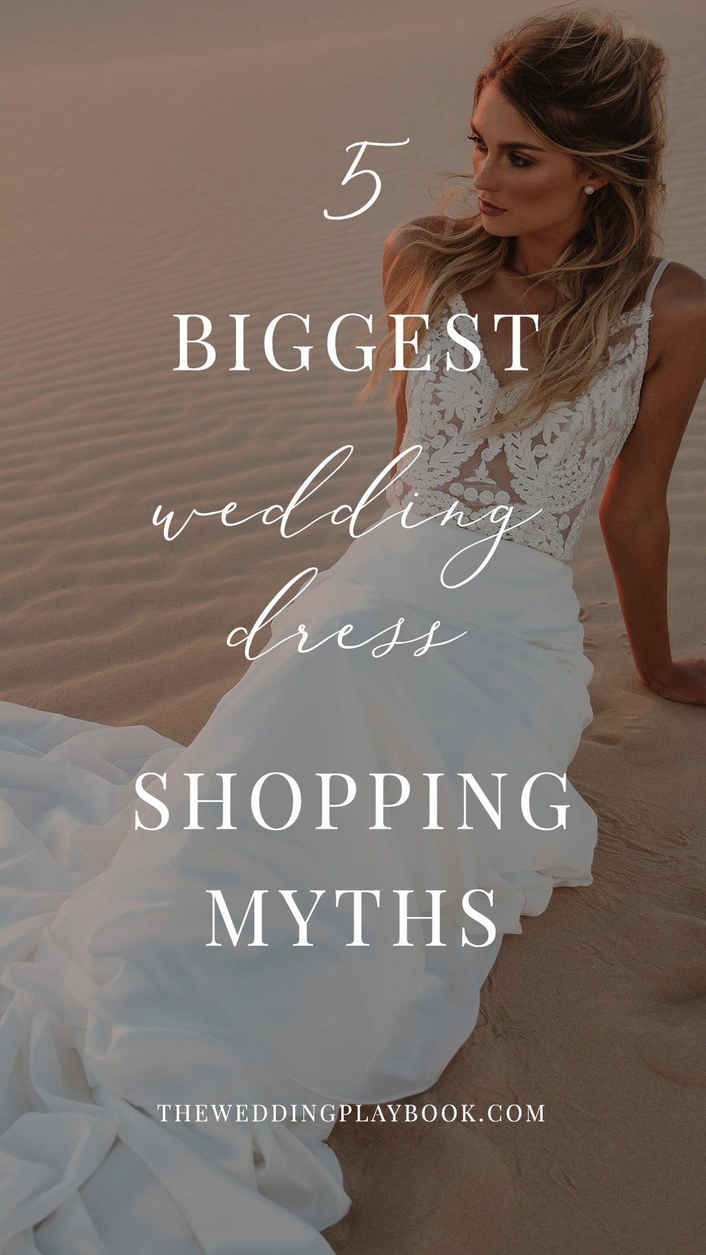 5 Biggest Wedding Dress Shopping Myths Busted