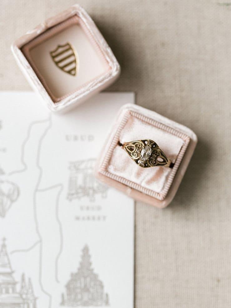 Wedding Invitation Tips Pink Ring Box The Wedding Playbook