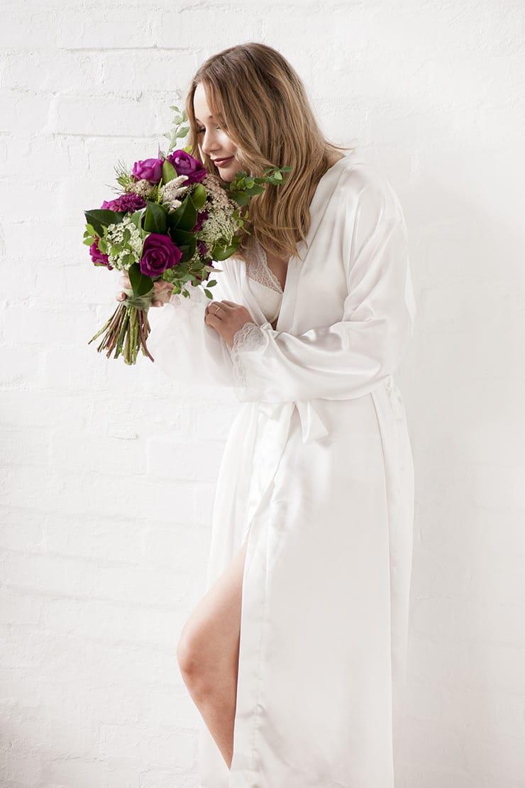 Wedding morning bridal boudoir inspiration