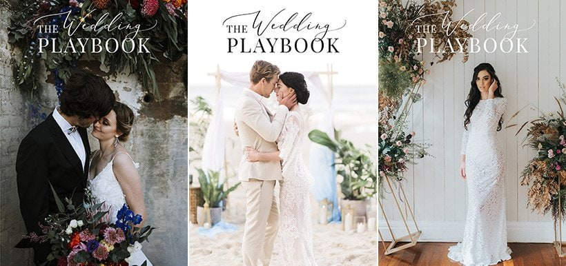 Wedding Playbook Magazine Covers