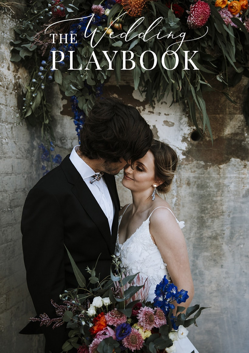 The Wedding Playbook Magazine Volume 15
