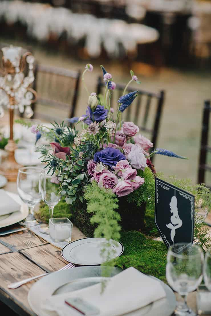 Wedding-Reception-Ideas-Wow-Your-Guests-Enchanted-Woodland-Centrepiece
