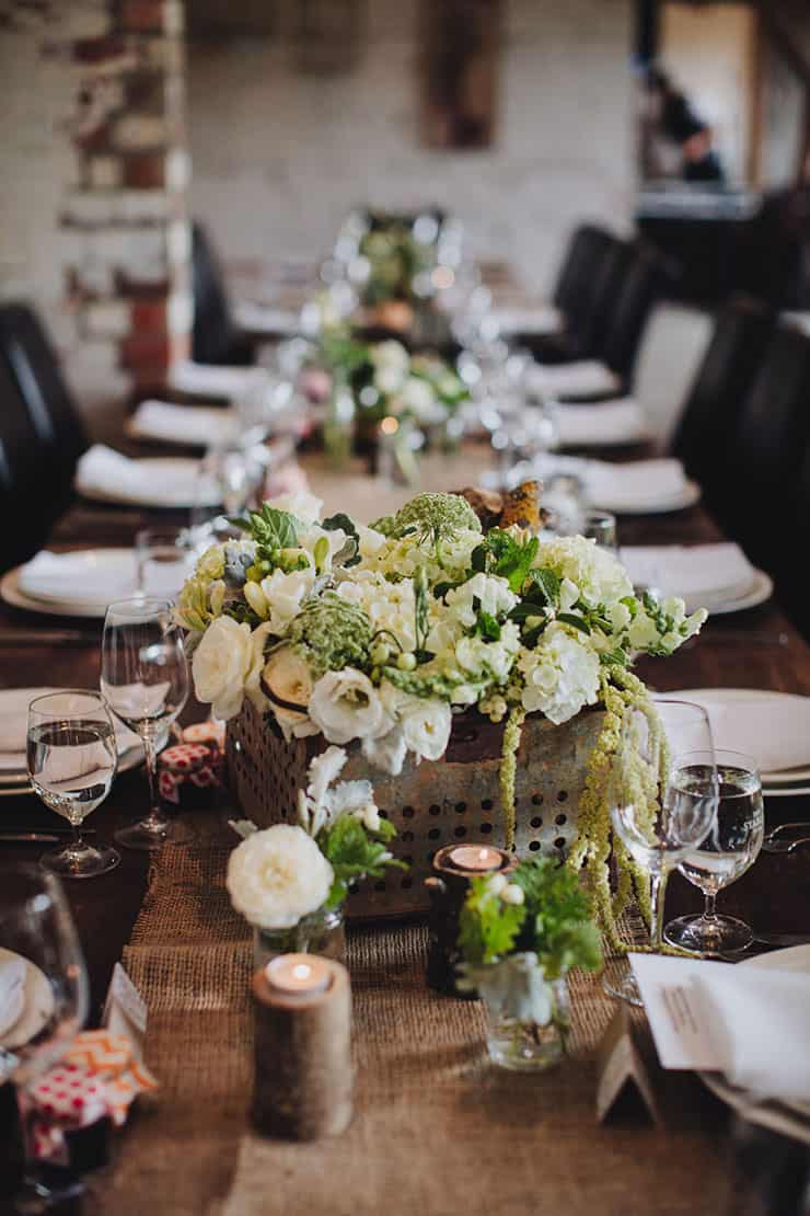Wedding-Reception-Ideas-Wow-Your-Guests-Romantic-Woodland-Centrepiece