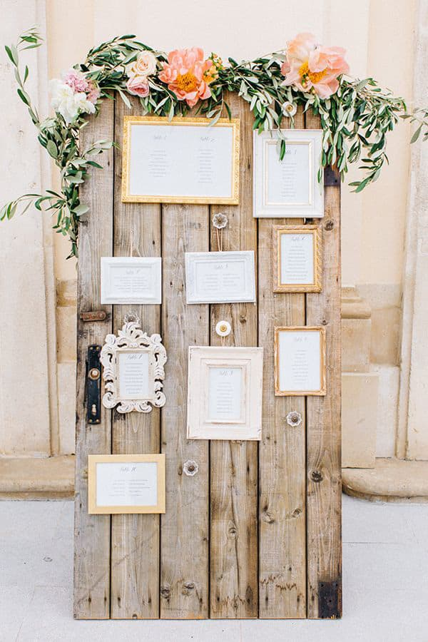 Wedding Reception Seating Chart | Tony Gigov via Swooned