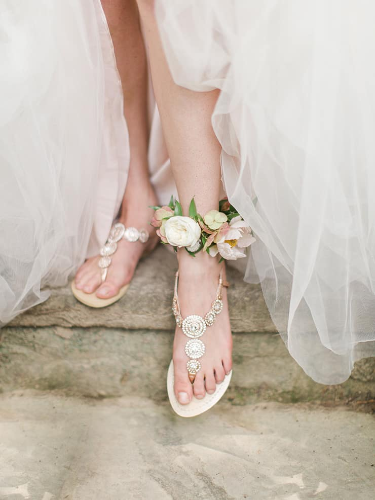 Wedding Shoe Tips to Put Your Best Foot Forward