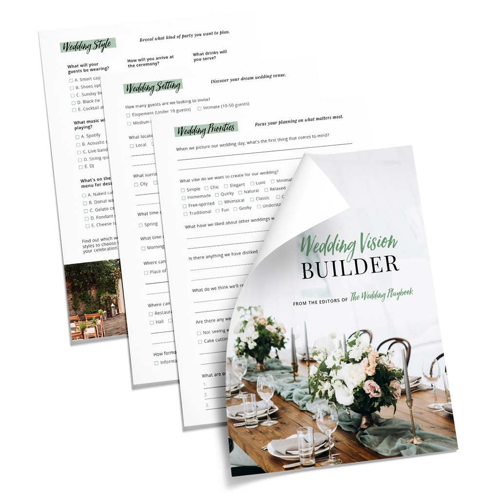 Wedding Vision Builder Preview