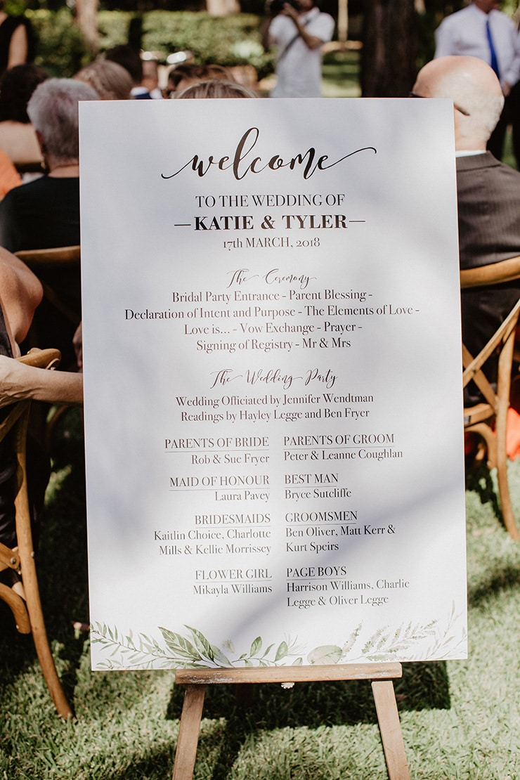 Katie & Tyler's Whimsical Greenery Wedding | Samuel Jacob Photography