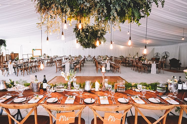 Gorgeous Wedding Reception Centrepiece Ideas | Popcorn Photography