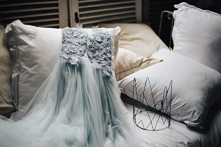 Whimsical Wedding Inspiration in Shades of Blue