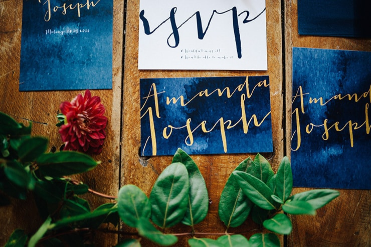 Whimsical Wedding Inspiration in Shades of Blue - The Wedding Playbook