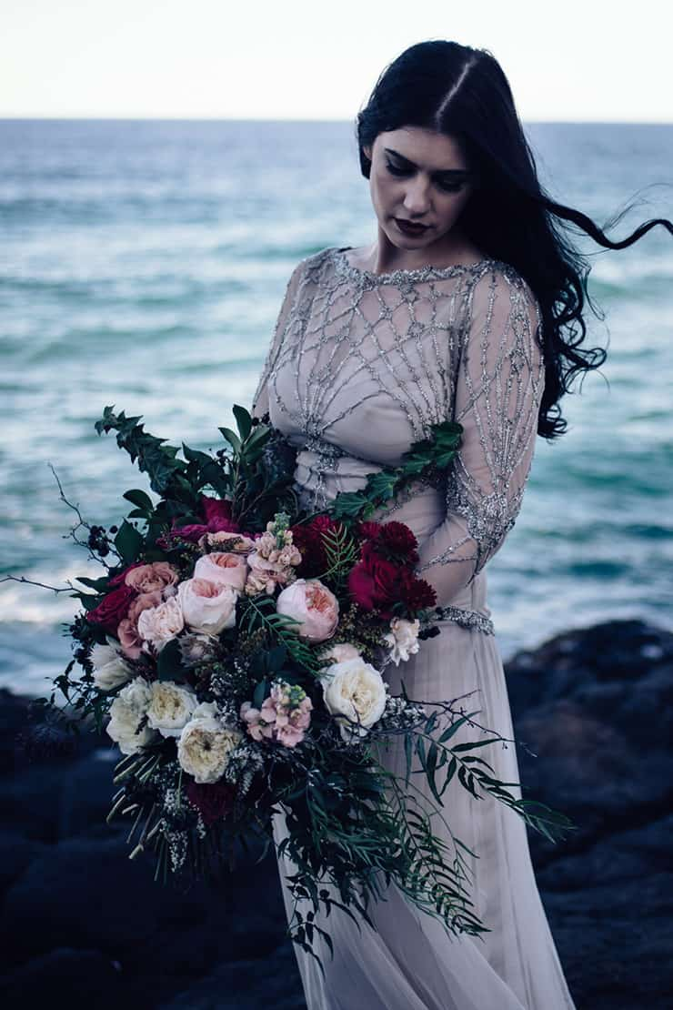Windswept Seaside Elopement Inspiration | Peppermint Photography
