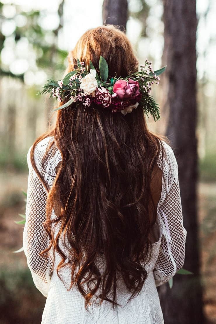 Heavenly Wedding Hair Ideas | Twig + Fawn